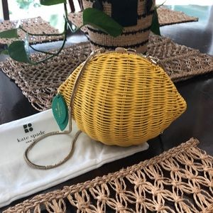 Kate Spade mini Lemon Handbag
